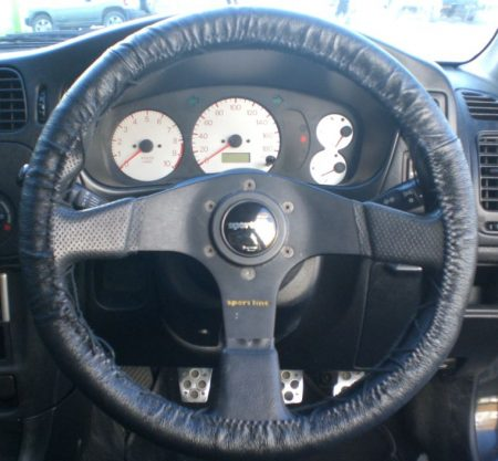 Lace Up Steering Wheel Cover Genuine Leather Steering Wheel Cover